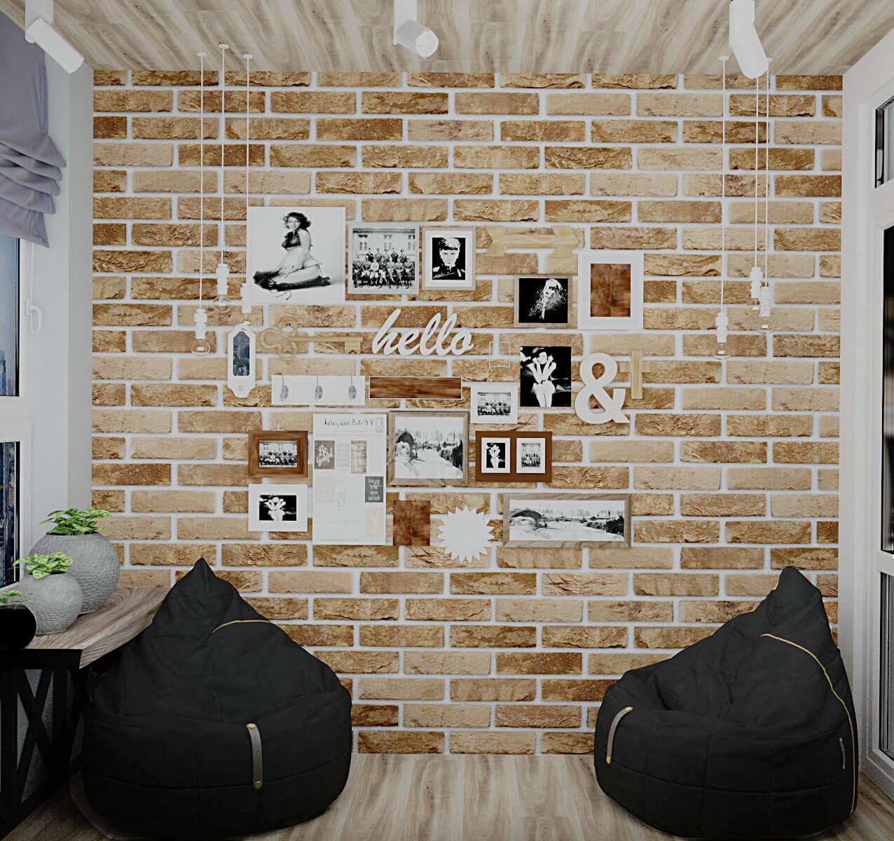 Визуализация места для отдыха в ЖК Варшавский, Киев, Profirem