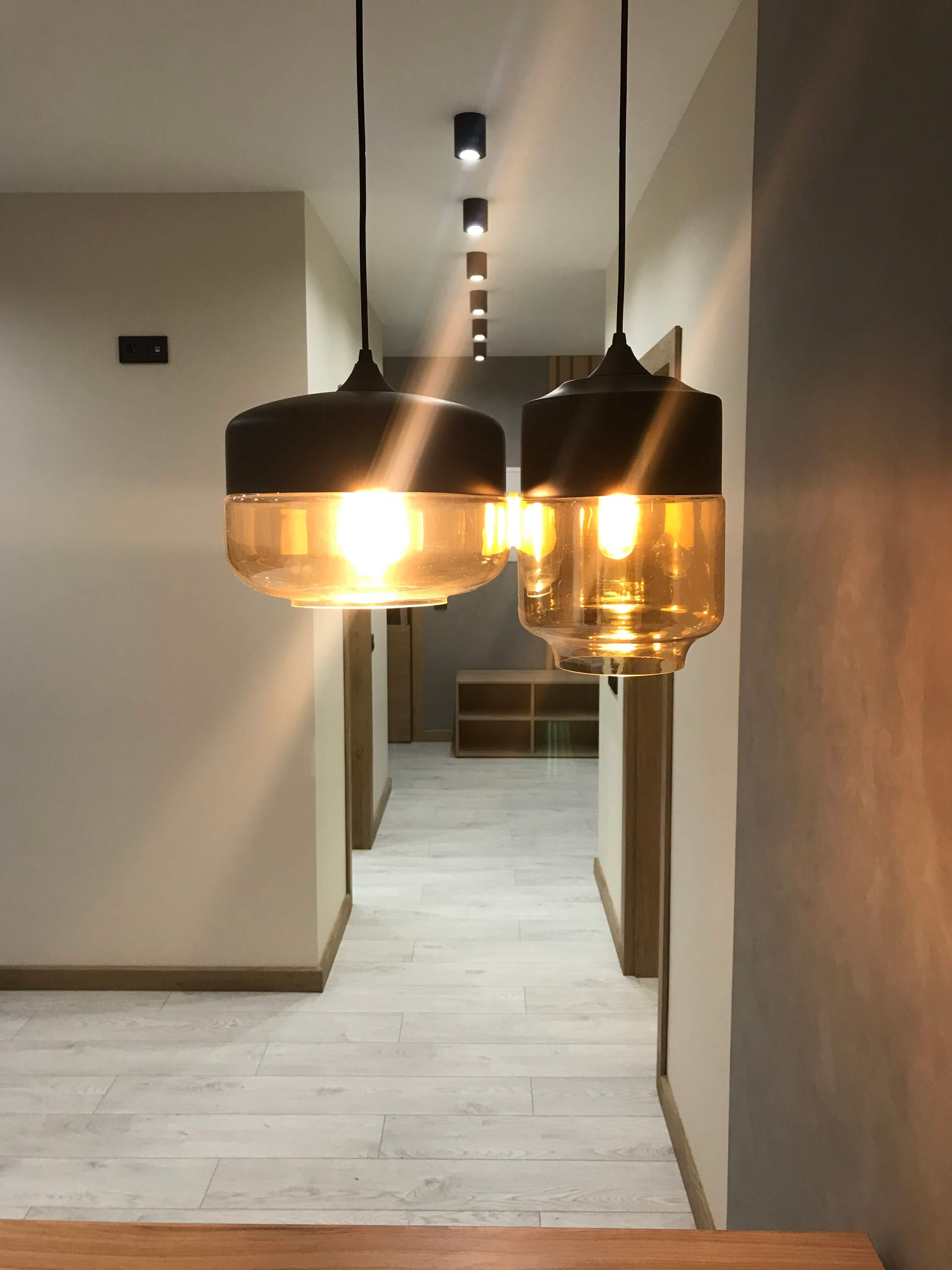светильники в коридоре
