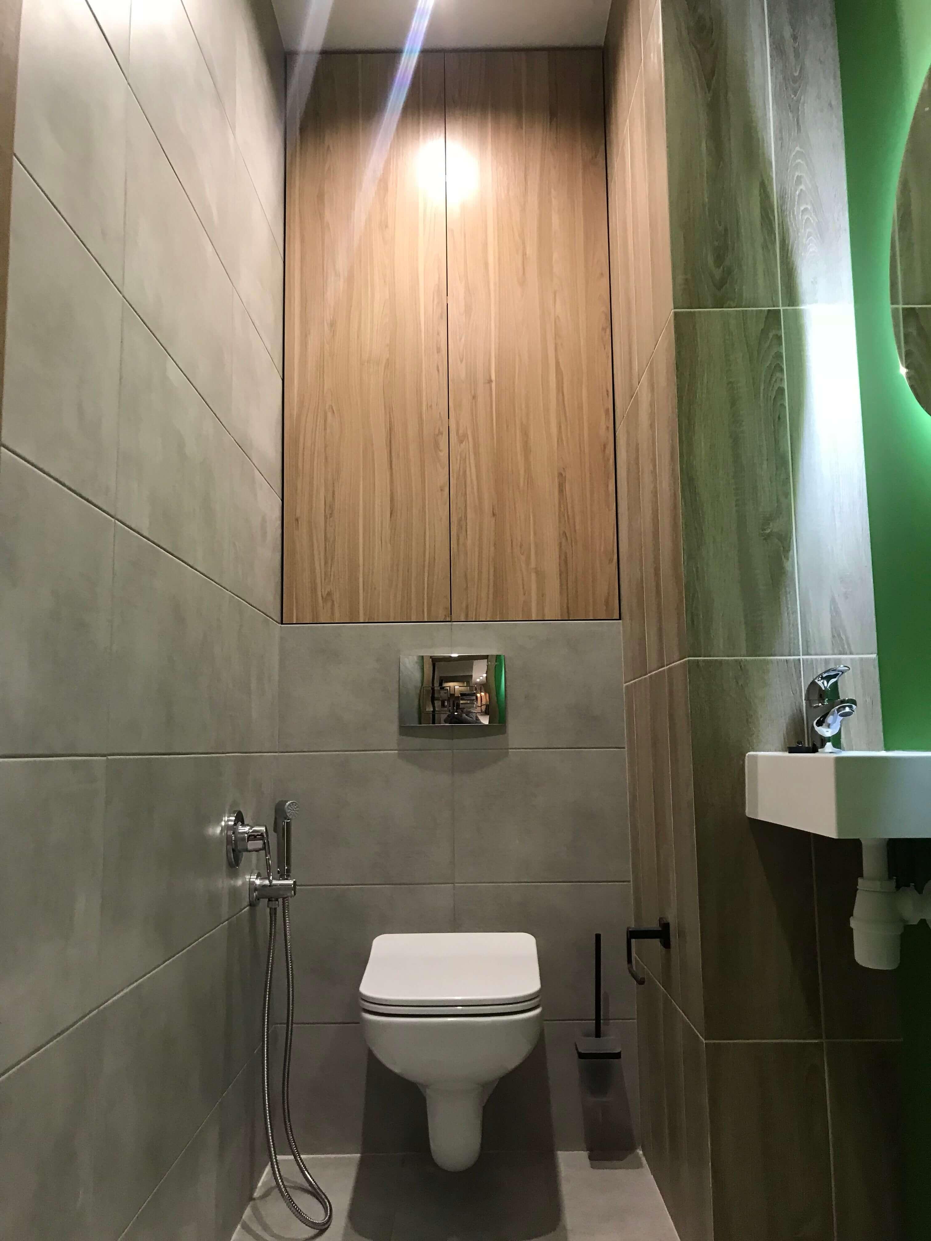 туалет во втором санузле