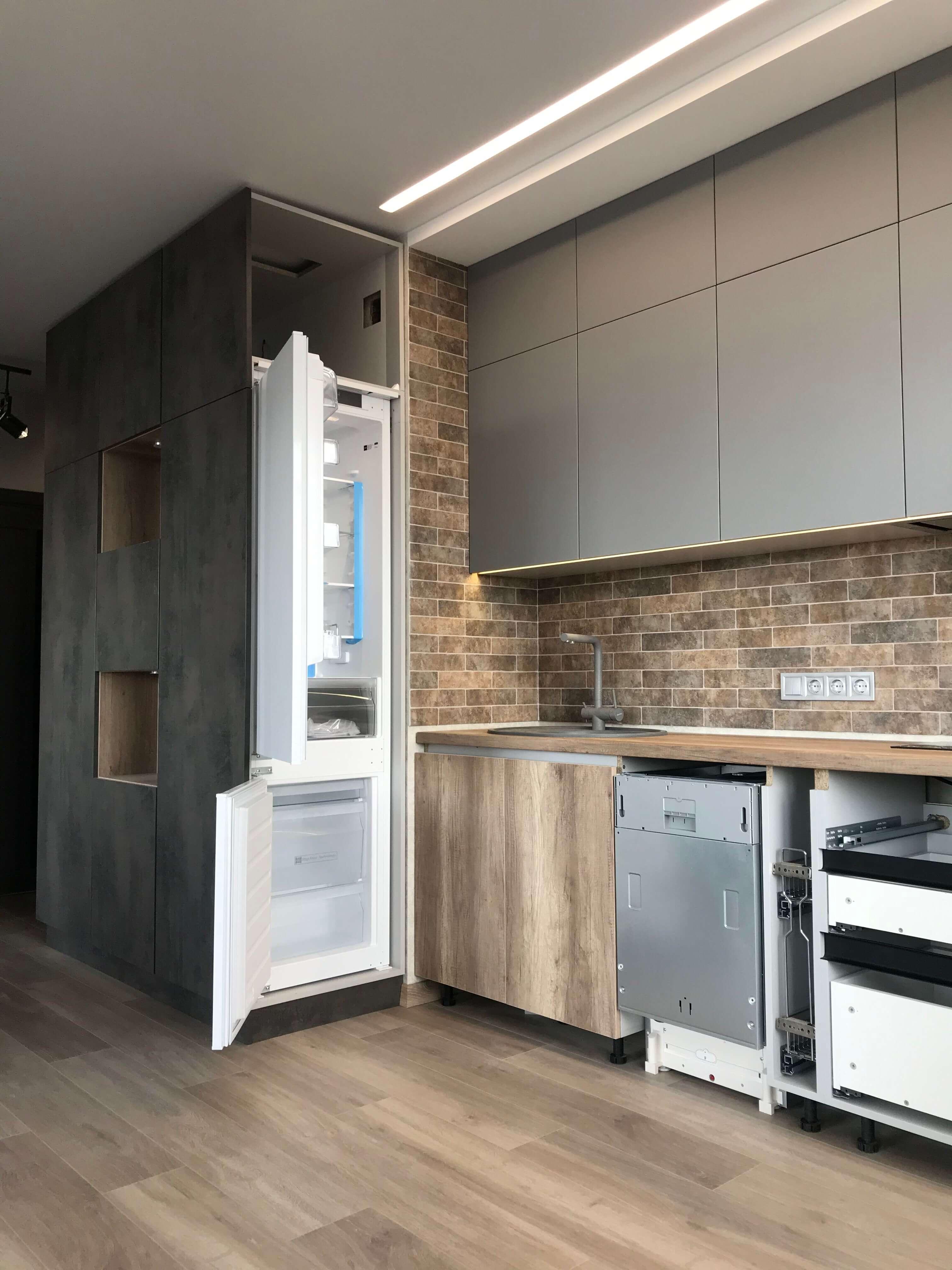 Лофт в ЖК Варшавский с кухней и коридором
