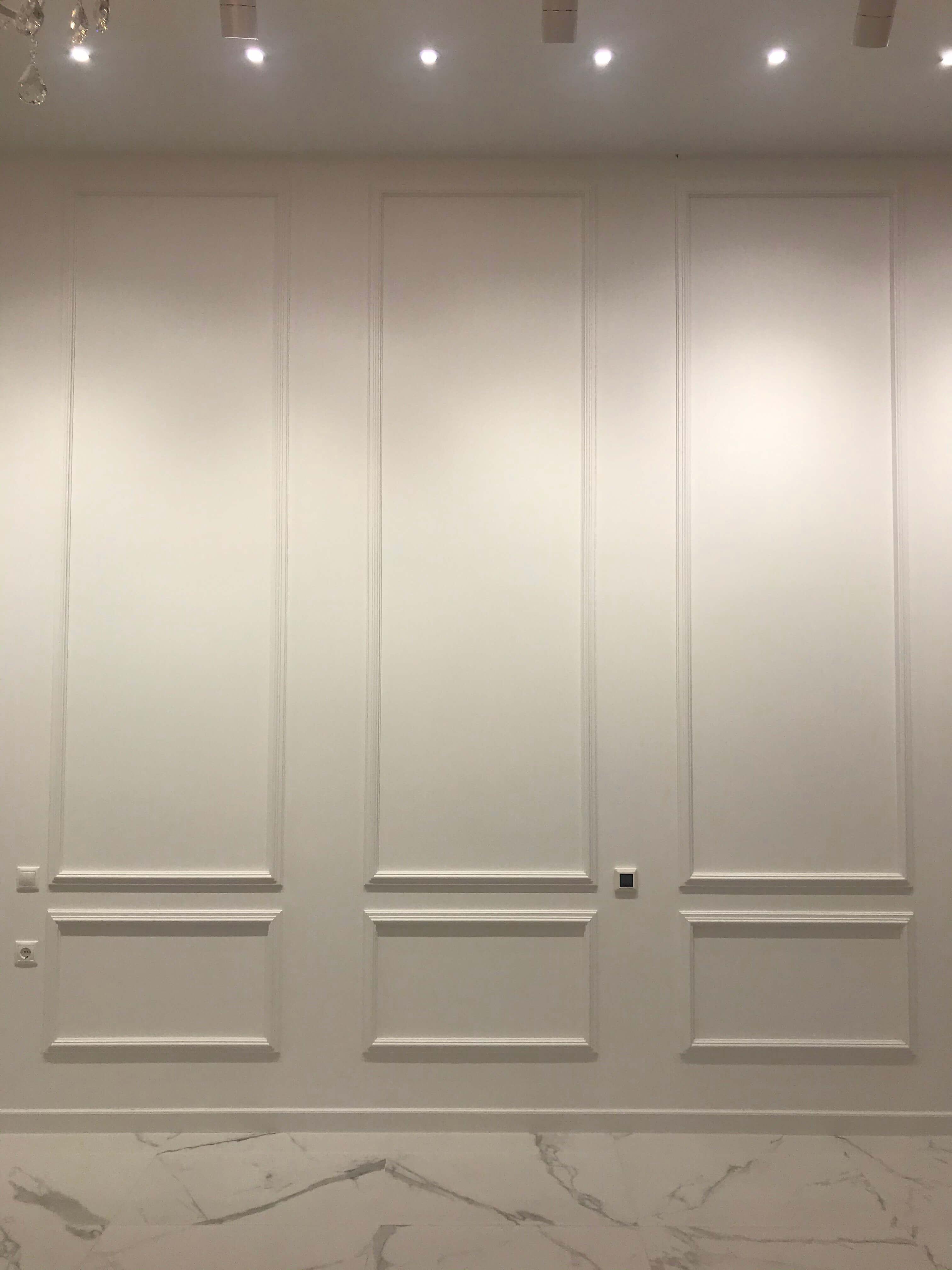 отделка стены