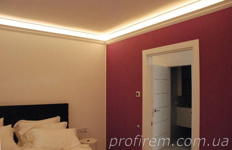 Одна из двух спален в объединенной квартире на Чайках