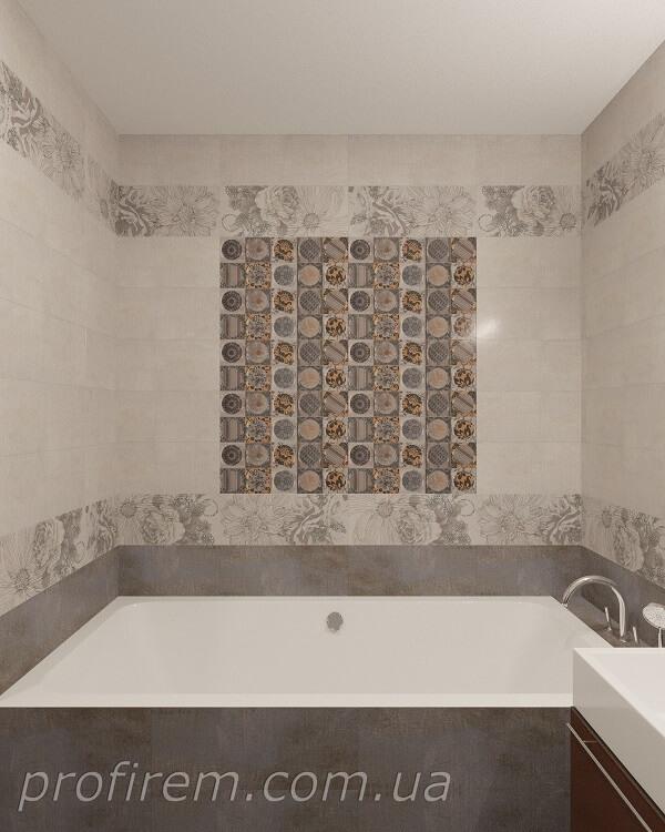 визуализация расположения ванной