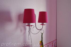 освещение в детской для девочки