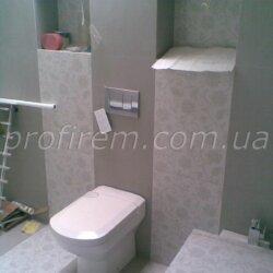 завершающая стадия ремонта ванной комнаты