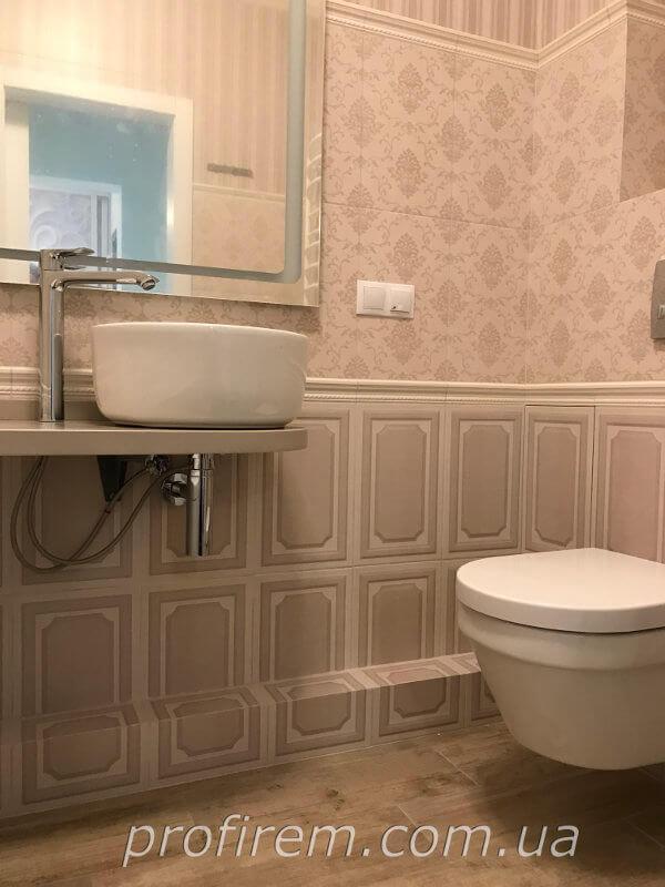 Туалет в ЖК Амурский