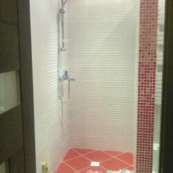 укладка мозаичной плитки и мозаики в ванной
