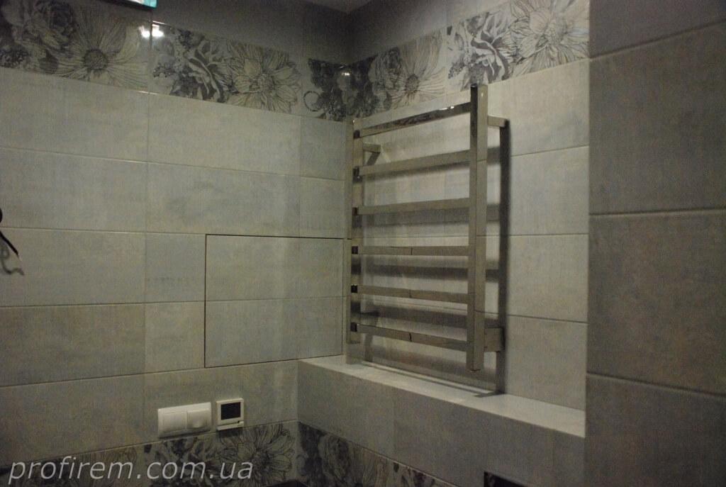 полотенцесушитель в квартире соломенский район