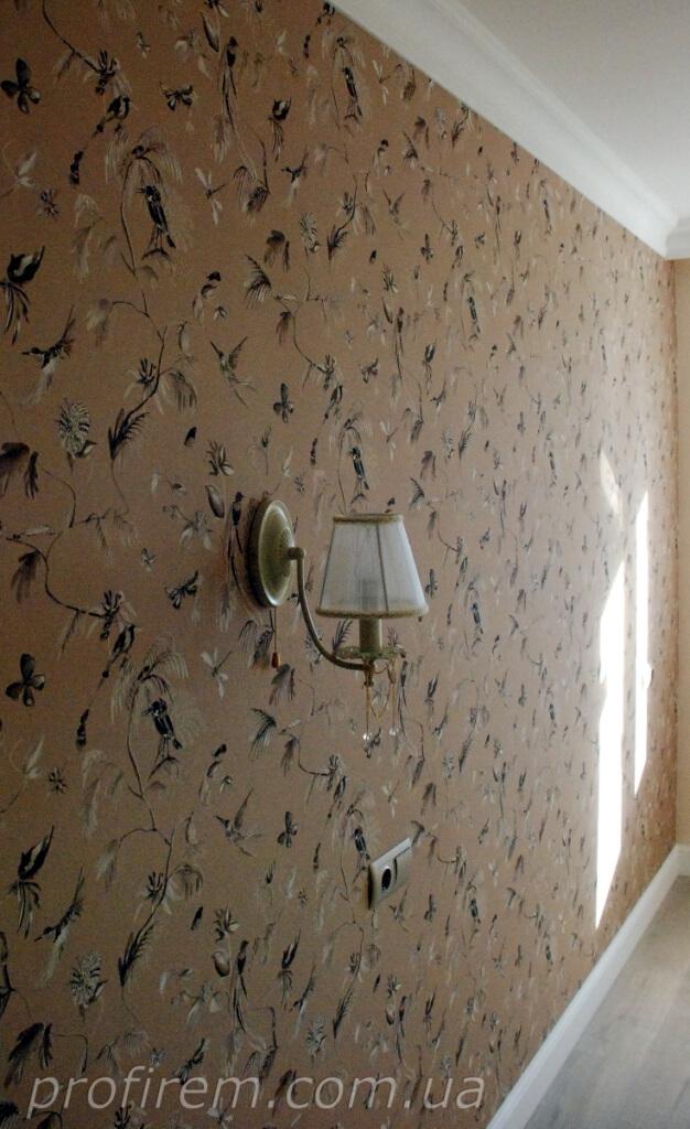 светильник в новой комнате