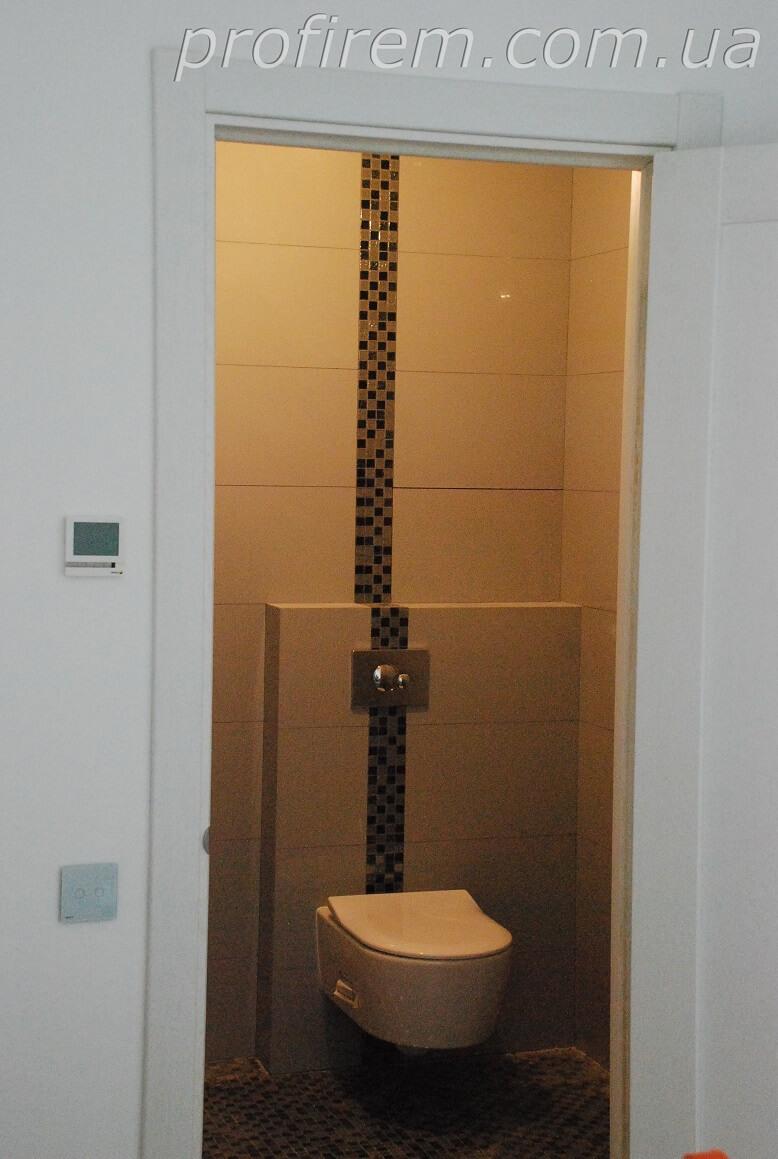 ремонт туалета под Киевом